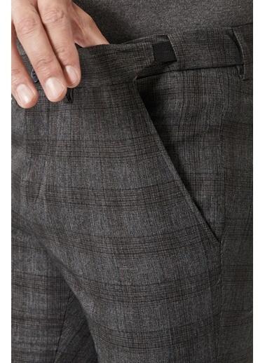 Beymen Business Slim Fit Beli Lastikli Pantolon 4B0121100032 Antrasit